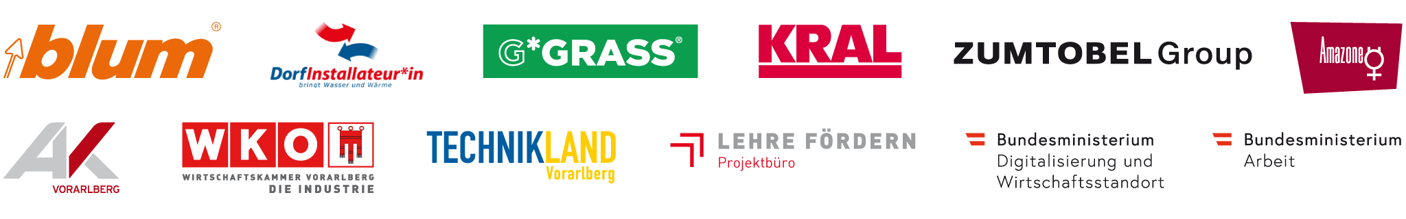 Logoleiste Projektpartner*innen IK4